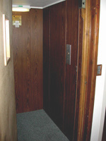 Care-Home Lift Installation Before